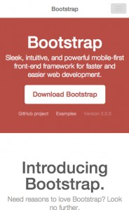 Bootstrap 3 - Responsive Layout